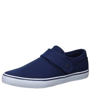 Lugz Mens Voyage Ii  Navy Canvas Sneaker 9.5 D